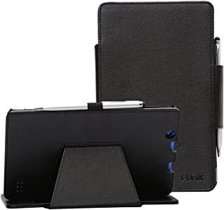 i-UniK Nextbook Ares 8A Compatible Model #NX16A8116 K/R/B/S Android 6.0 Tablet Cover CASE [Bonus Stylus] (Black)