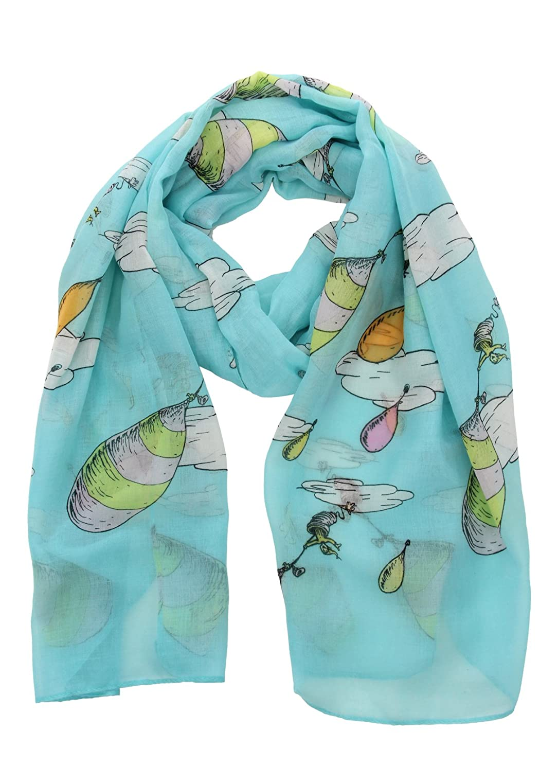 elope Oh, The Places You'll Go! Lightweight Scarf Blue