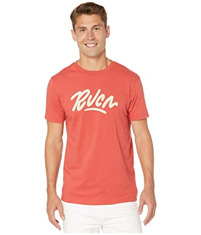 RVCA Flow Short Sleeve T-Shirt (Baked Apple) Men