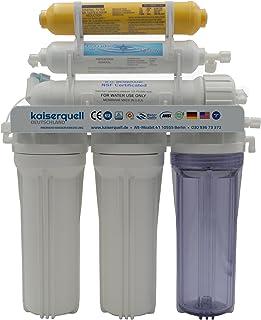 kaiserquell Système de Filtre à Eau avec système de Osmose Inverse 7 Compartiments Produit de qualité certifié en Allemagne