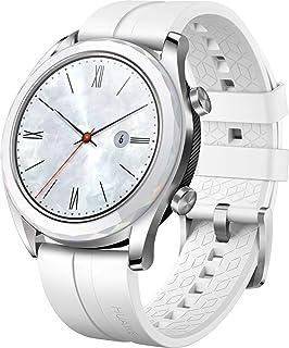 Huawei Watch GT Elegant, Smartwatch con Caja de Metal, Pantalla Táctil AMOLED de 1.2