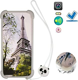 Case for Blu Vivo Go V2.0 Case Silicone border + PC hard backplane Cover BLTT