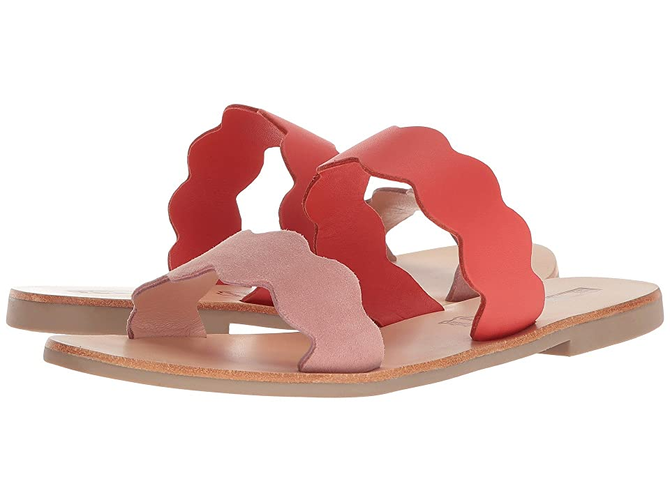Sol Sana Wave Slide (Light Pink/Flame) Women