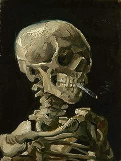 Printed Wall Art Poster Vincent Van Gogh Art Prints Framed (Skull with Cigarette, 1885) for Living Room Home Decoration - 23