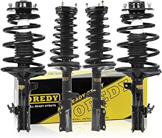 OREDY Full Set of 4 Front Rear Complete Struts Assembly Shocks Coil Spring Assembly Kit Compatible with Toyota Camry/Lexus ES300 1997-2001/Toyota Avalon 1999-2003