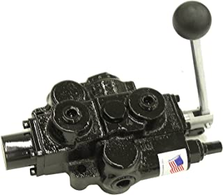 Prince RD512CA5A4B1 Directional Control Valve, Single Spool, 4 Ways, 3 Positions, Spring Center To Neutral, Cast Iron, 3000 psi, Lever Handle, 30 gpm, In/Out: 3/4