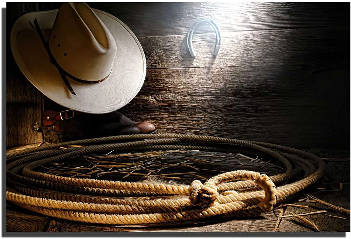 Cowboy Max 80% OFF -rope -home-decoration Painting DecorModern Ranking TOP12 room Living C