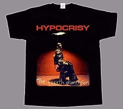 Hypocrisy the fourth dimension new black rock T shirt