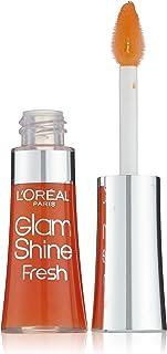 L'Oréal Paris Glam Shine Fresh Lipgloss, 187 Aqua Mandarijn
