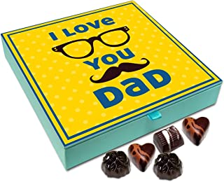 Chocholik Fathers Day Gift Box - I Love You Father Chocolate Box - 9pc