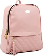 Copi Women's Modern Design Casual Fashion small Backpacks Pink