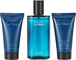Davidoff Cool Water by Davidoff for Men - Assorted Fragrances, 3 Count