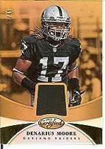 Football NFL 2013 Certified Mirror Gold Materials #19 Denarius Moore MEM 35/49 Raiders