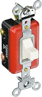 Eaton AH1995W 20 Amp 120/277V Industrial Grade Three Position Toggle Switch, White