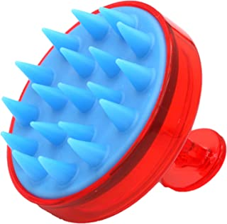 KAYZI® Shampoo Brush, Scalp Massager, Scalp Exfoliating Brush with Soft Silicone Head, Suitable for all Hair Types, Head M...