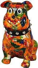 Tirelire Bouledogue fran/çais Chien Ailes dor Originale en c/éramique Cadeau Unique avec bo/îte-Cadeau Gratuite Pomme Pidou Tirelire Angels Jack Green Arty Circles
