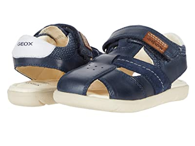 Geox Kids Sandal Alul 5 (Toddler) (Navy) Boy