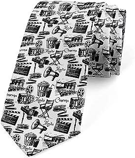 Cravatta da uomo skinny cravatta di moda novit/à antica cravatta di giornale Regali di Capodanno