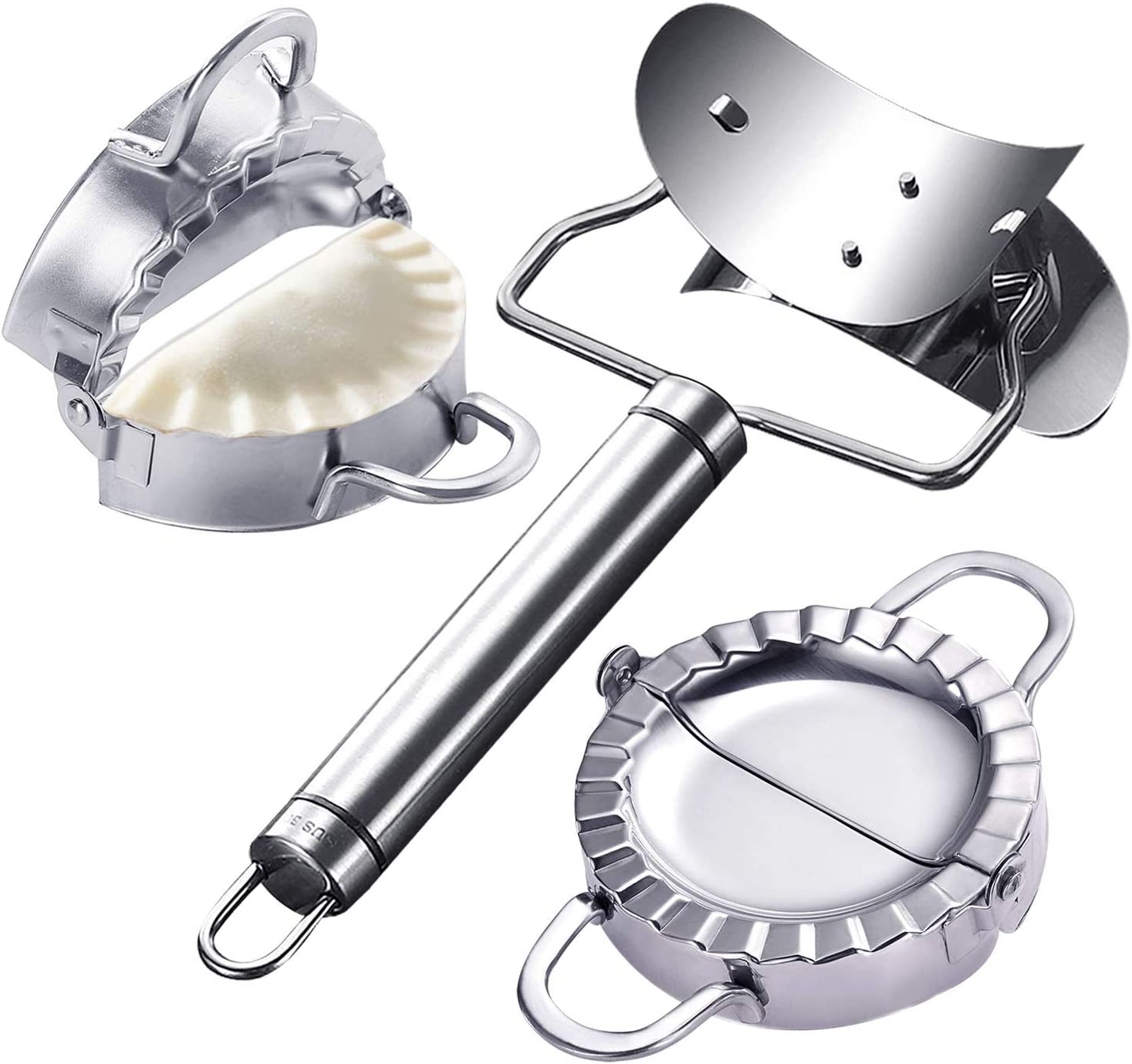 MyLifeUNIT Dumpling Maker Bombing new work 3 25% OFF Pack Stainless Steel Mold