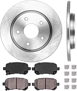 Callahan REAR 328.14 mm Premium OE 5 Lug Brake Disc Rotors Pair CRK01708 2