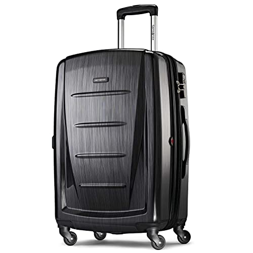 Oh la la paris district,Hardside suitcase,Spinner,Upright Luggage,24-Inch
