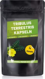 Fitness Vital Tribulus Terrestris Kapseln mit 95% Saponinen hochdosiert vegan | 240..