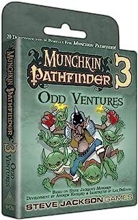 Steve Jackson Munchkin Pathfinder 3 Odd Ventures Card Game