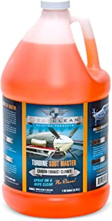 Turbine Soot Master- Aircraft Degreaser- Carbon and Exhaust Soot Remover for Aircraft- Desinged for Turboprop Aircraft- Ai...