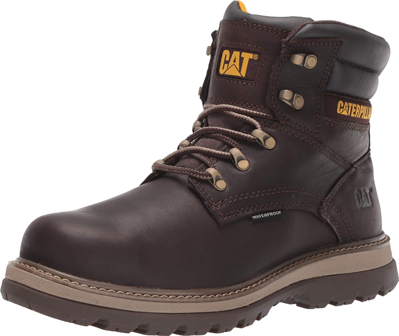 Caterpillar Men's Fairbanks Wp St Construction Boot
