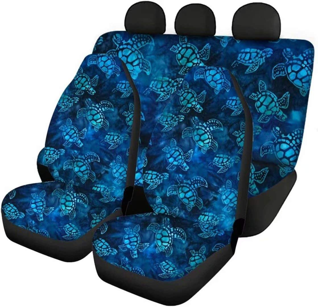 At the price Advocator Car Front Seats Cover+Rear Bottom Covers+Rear Backrest Max 47% OFF