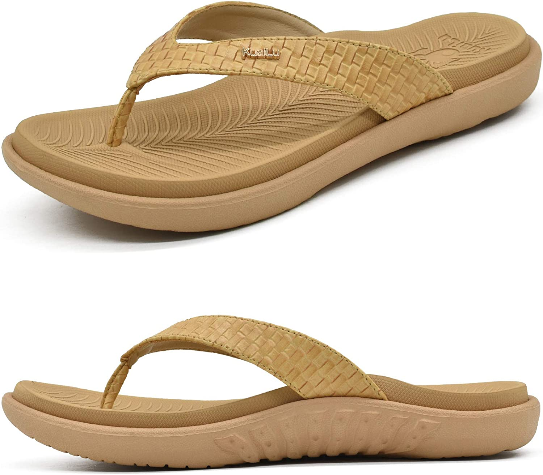 KuaiLu Womens Sales for sale OFFicial Flip Flops Ladies Tho Yoga Walking Comfortable Mat