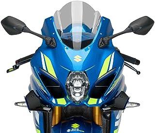 Puig Side Spoiler Downforce 9738N for Kawasaki ZX10R 16'-19', Honda CBR1000RR 17'-18', Black