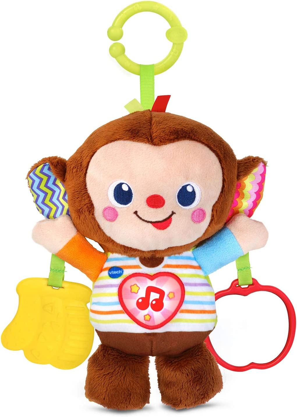 VTech Cuddle and It is very popular Monkey Swing Multicolor Rare