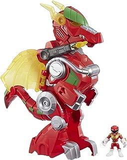 PLAYSKOOL HEROES Power Rangers Red Ranger & Dragon Thunderzord, 3