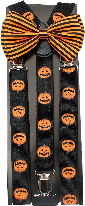 NEW Halloween Bow Ties & Suspender Sets Combos