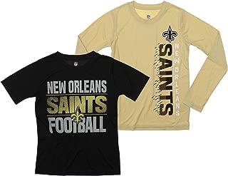 NFL Boys Youth Football Fan Two Performance T-Shirt Set, Team Variation