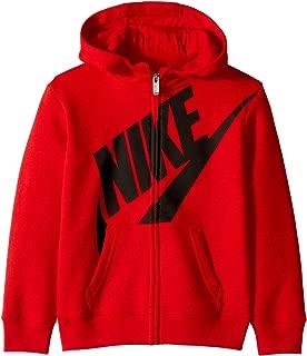 Nike Kids Mens Futura Fleece Full Zip Hoodie (Toddler)