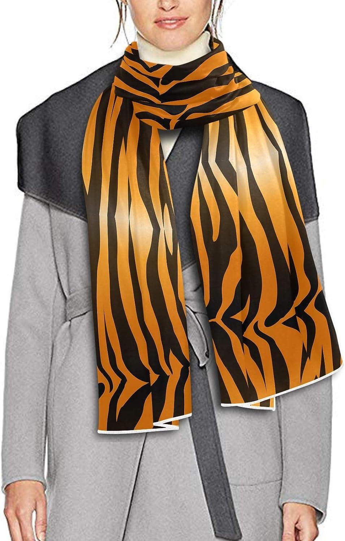 Scarf for Women and Men Tiger Skin Stripe Blanket Shawl Scarves Wraps Warm soft Winter Long Scarves Lightweight