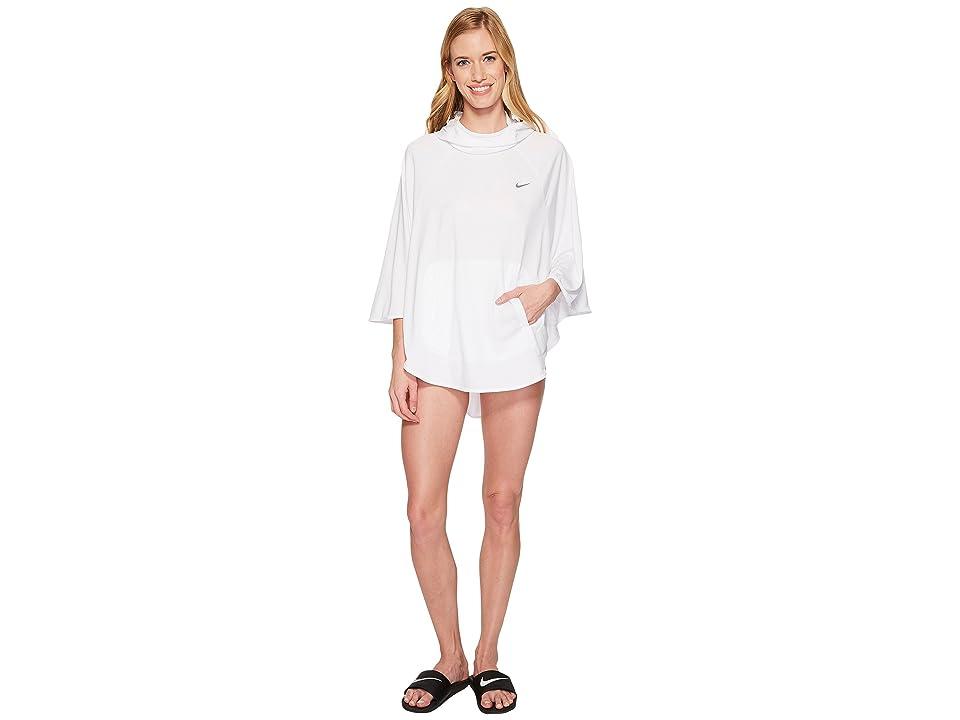 Nike Poncho Cover-Up (White) Women