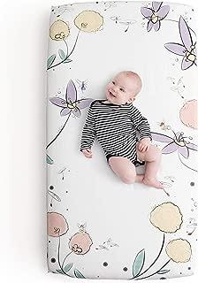 JumpOff Jo 100% Cotton Crib Sheet, Fairy Blossoms