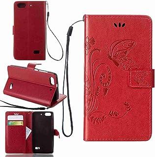 2fc5fcdf5c2 pinlu Funda para Huawei G Play Mini (Honor 4C) Función de Plegado Flip  Wallet