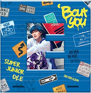 SM Entertainment SUPER JUNIOR-D&E - Bout You (2nd Mini Album) [EUNHYUK ver.] CD+Photobook+Folded Poster