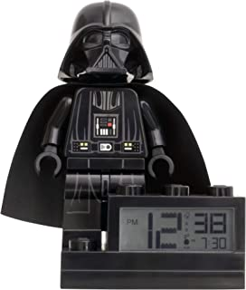 ClicTime Darth Vader Lego Star Wars Clock, 6 inches
