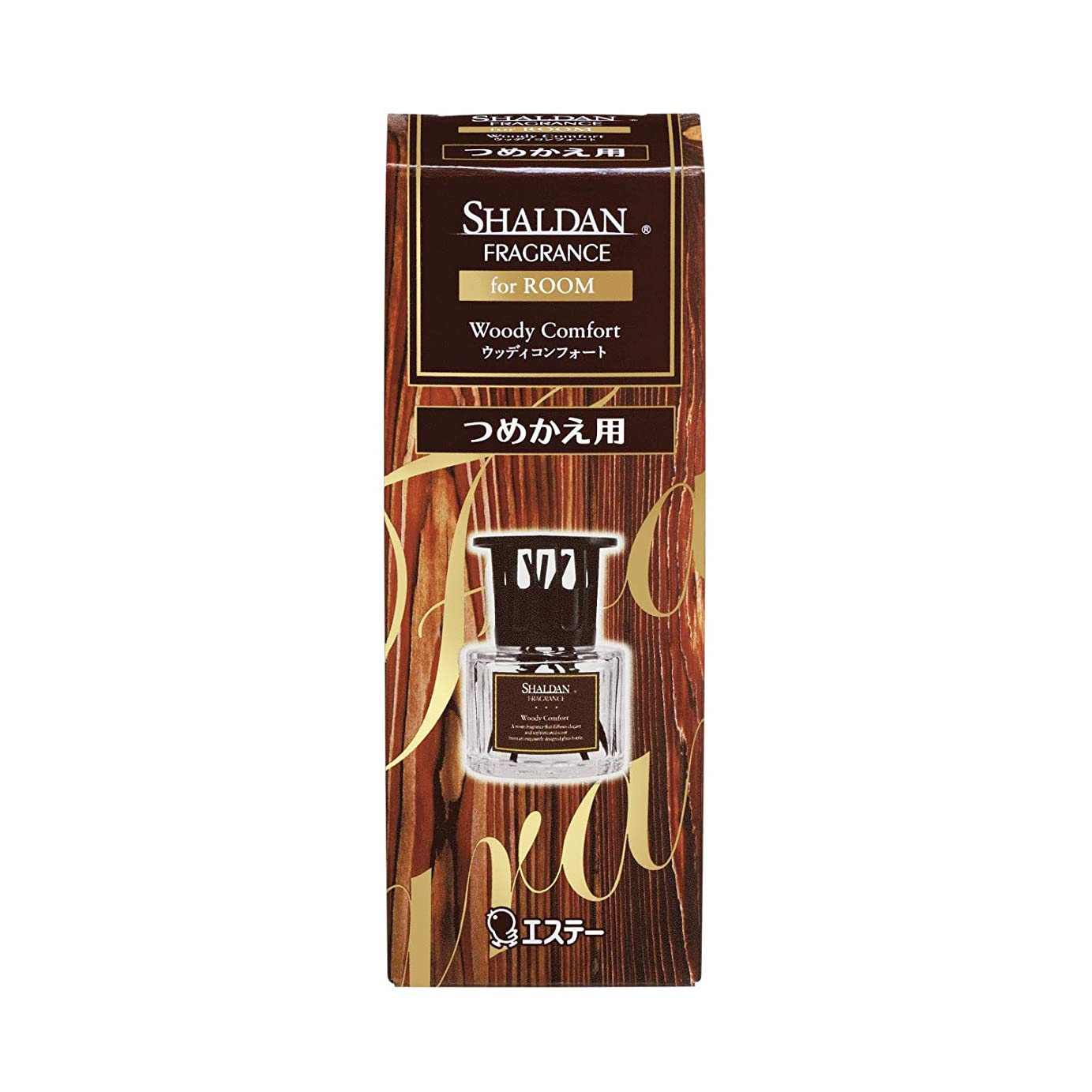 仕方走る日食シャルダン SHALDAN フレグランス for ROOM 芳香剤 部屋用 つめかえ ウッディコンフォート 65mL