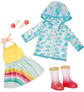 Glitter Girls by Battat – Smile! Rain Or Shine – Deluxe Outfit - 14