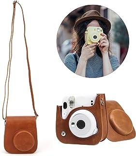 Camera Storage Case, Camera Bag, Brown for Fujifilm Instax Mini 11/9/8 Camera