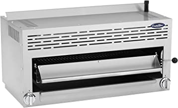 Salamander grill Adjustable Salamander grill Wall-mounted oven Salamander grill 2000 W Electric cheese grill Raclette in stainless steel Grill grill 50-300 ℃ for domestic commercial use