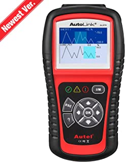 Autel AutoLink AL519 OBD2 Scanner Enhanced Mode 6 Check Engine Code Reader, Universal Car Diagnostic Tool with One-Click S...