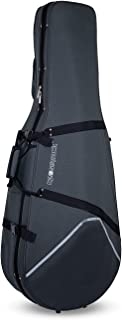 Crossrock Lightweight Cello Case with Dense Foam in Grey 4/4 Full Size (CRP200CEFGY)