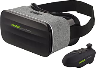 NeuTab VR 2nd Gen Virtual Reality VR Headset 3D Glasses with Remote Controller 360 Degree Immersive Movies and Games for iOS, Android Phones, iPhone Xs, XS Max & XR (Limited time Offer)